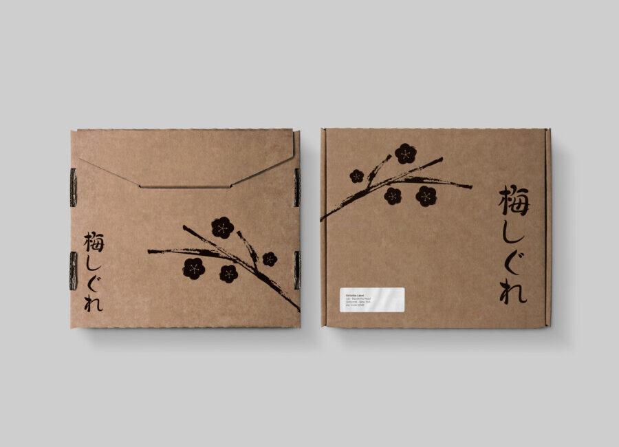Package design for Ume Shigure
