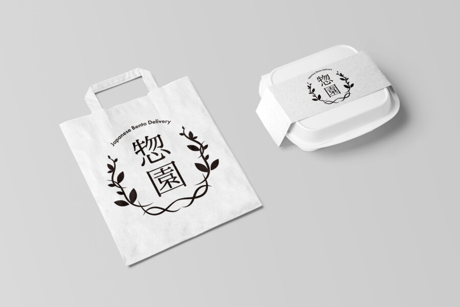Logo design for lunch delivery service