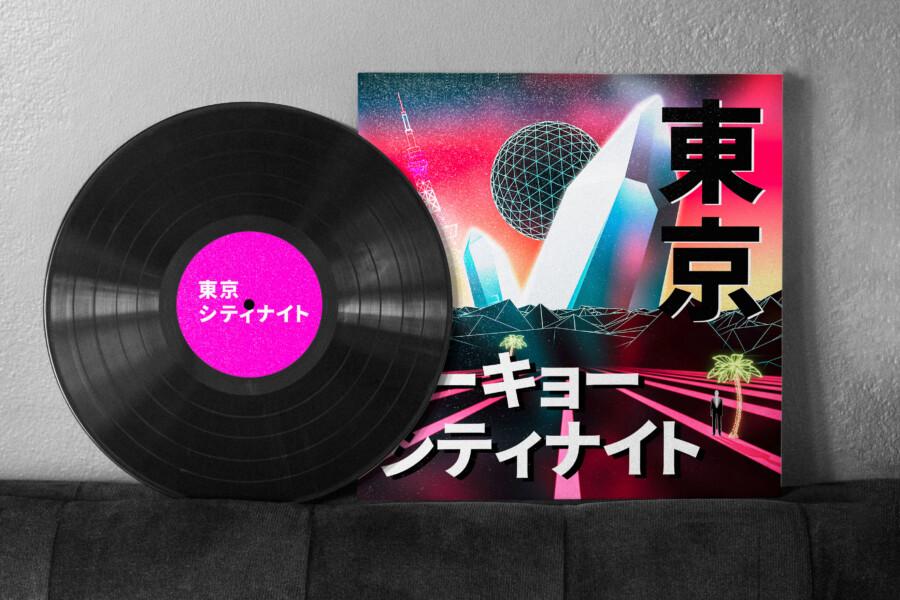 Record cover design