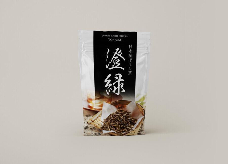 Hojicha package design