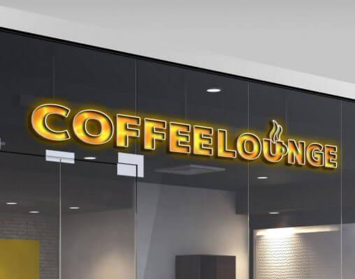 カフェのロゴマーク