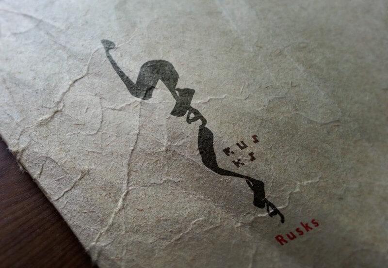 ラスクのロゴマーク