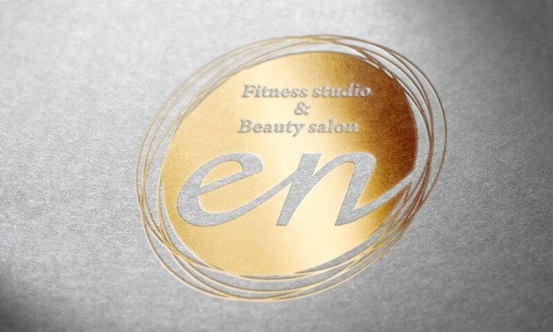 フィットネスサロンのロゴマークデザイン
