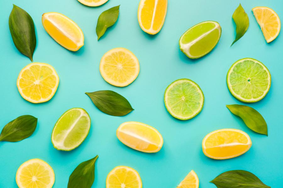 ライムとレモン
