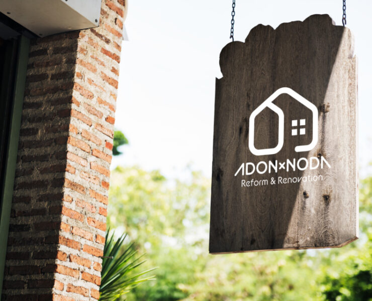 renovation and remodeling company logo